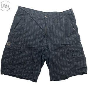 Wrangler Hero Originals Plaid Cargo Shorts DG13